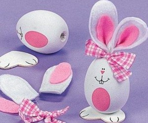 easter, easter decorations, and easter crafts image
