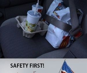 food, funny, and safety image