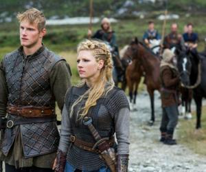 bjorn, vikings, and lagertha image