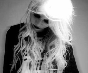 black & white, punk, and the pretty reckless image