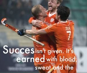 blood, hockey, and quote image