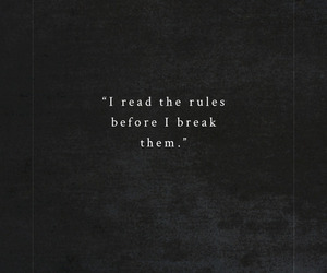 rules, quotes, and break image