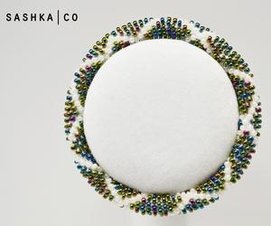 girls jewelry, glass beaded bracelet, and baltimore maryland image
