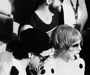 hayley, paramore, and b&w image