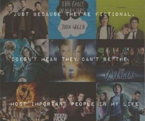 harry potter, the avengers, and percy jackson image
