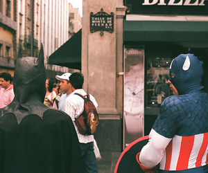 batman, captain america, and photography image