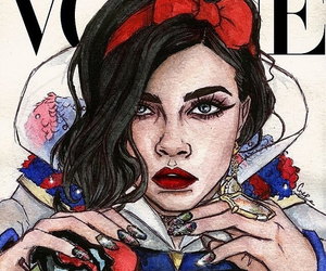 vogue, snow white, and princess image