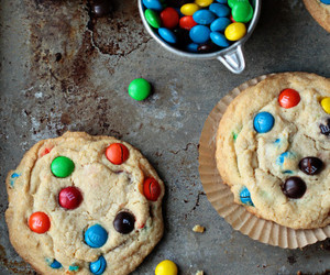Cookies and m&ms image