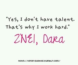 2ne1, dara, and quotes image