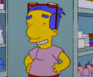 milhouse, funny, and the simpsons image