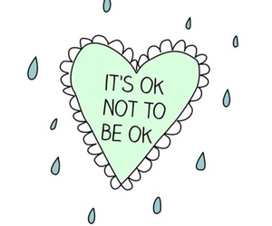 quote, heart, and ok image