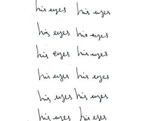 love, eyes, and text image