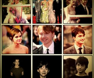 daniel radcliffe, harry potter, and the golden trio image