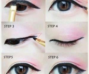 eyes, make up, and ulzzang image