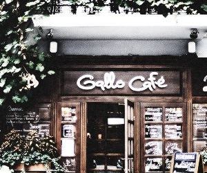 cafe, twitter header, and cute image