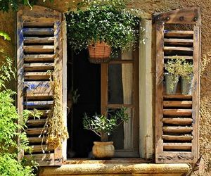 window, photography, and rustic image