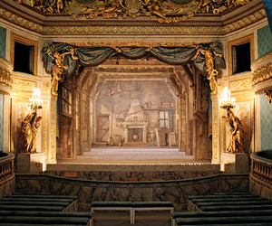 gold, place, and theatre image