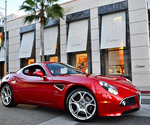 car, luxury, and cartier image