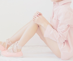 pink, cute, and kfashion image