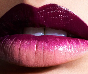 lips, makeup lips, and помада image