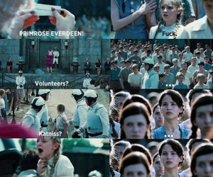 katniss, the hunger games, and funny image