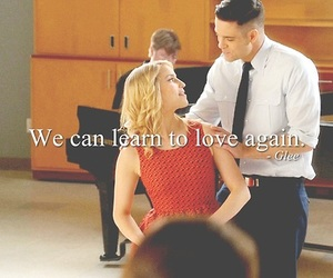 glee, quotes, and tumblr image