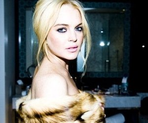 lindsay lohan, blonde, and beautiful image