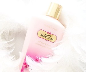 Victoria's Secret, pink, and pure seduction image