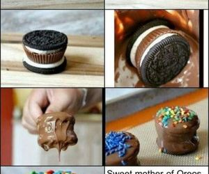 chocolate, oreo, and Cookies image