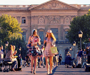 gossip girl, paris, and friends image