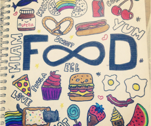 draw and food image