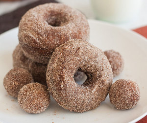 donut, gingerbread, and cinnamon sugar image