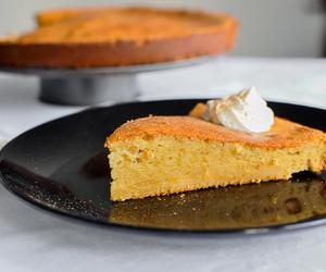 cake, lemon, and yogurt image