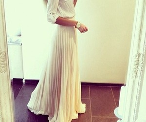 dress, pretty, and skirt image