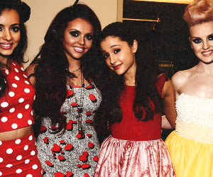 ariana grande and little mix image