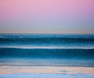 beach, california, and colorful image