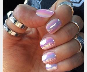 color, nails, and rings image