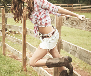 cowboy boots, Cowgirl, and cute image
