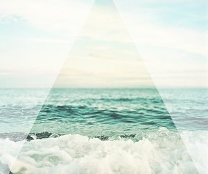 summer, waves, and hipster image