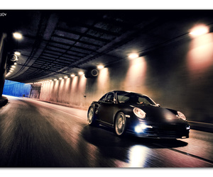 car, fast, and road image