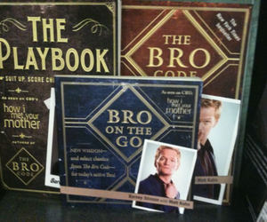 Barney Stinson, how i met your mother, and the brocode image