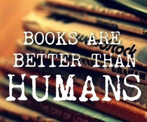 books and humans image