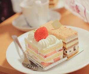cake, dessert, and slice image