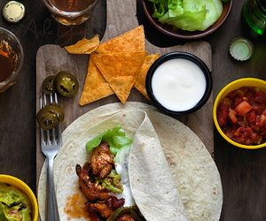 food, mexico, and yummy image
