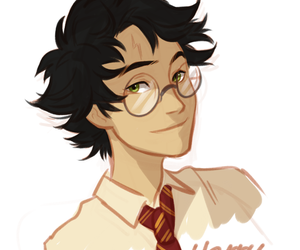 harry potter, viria, and book image