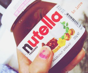 nails, nutella, and love image