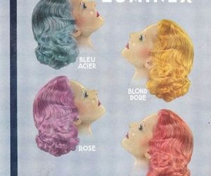1940s, hair color, and beauty image