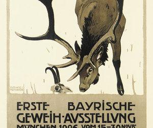 1906, design, and animal image