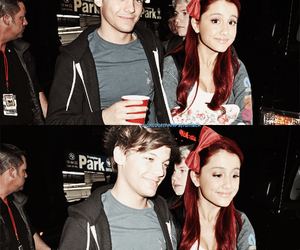 ariana grande and louis tomlinson image