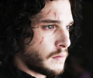 game of thrones, jon snow, and kit harington image